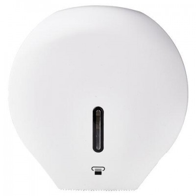 Диспенсер для туалетной бумаги LAIMA PROFESSIONAL BASIC (Система T2), малый, белый, ABS-пластик, 606682