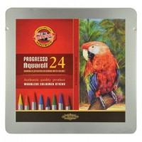 Карандаши цветные акварельные художественные 24 ЦВЕТА KOH-I-NOOR