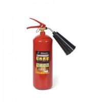 Огнетушитель углекислотный ОУ-2, ВСЕ (жидкие, газообразные вещества, электроустановки), закачной, ЯРПОЖ, 2 места, 41