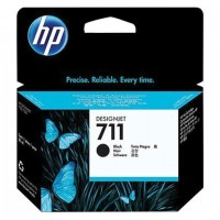 Картридж струйный для плоттера HP (CZ133A) DesignJet T120/T520, №711, черный, оригинальный, увеличенной емкости
