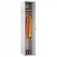 """Шкаф металлический для одежды ПРАКТИК """"LS-01"""", односекционный, 1830х302х500 мм, 17 кг, разборный"""