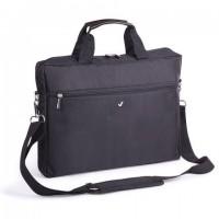 """Сумка деловая BRAUBERG с отделением для ноутбука 15,6"""", """"Tempo"""", карман, черная, 40х30х4 см, 240453"""