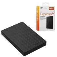 """Внешний жесткий диск SEAGATE Expansion 500 GB, 2.5"""", USB 3.0, черный, STEA500400"""