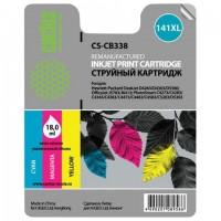 Картридж струйный CACTUS (CS-CB338) для HP OfficeJet J5700/Deskjet D4200, цветной