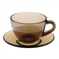 """Набор чайный на 6 персон, 6 чашек объемом 220 мл и 6 блюдец, """"Simply Eclipse"""", LUMINARC, J1261"""