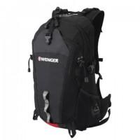 Рюкзак WENGER, универсальный, черный, туристический, 28 л, 29х19х52 см, 30582215