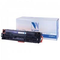 Картридж лазерный NV PRINT (NV-CF381A) для HP LJ M476dn/M476dw/M476nw, голубой, ресурс 2700 страниц