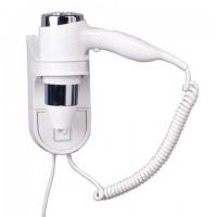 Фен для волос настенный BXG-1600 H1, 1600 Вт, пластик/металл, 2 скорости, белый