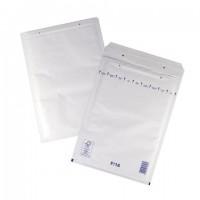Конверт-пакеты с прослойкой из пузырчатой пленки (240х350 мм), белая крафт-бумага, отрывная полоса, КОМПЛЕКТ 100 шт., F/3