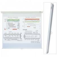 Экран проекционный настенный (160х160 см), матовый, 1:1, LUMIEN ECO PICTURE, LEP-100105