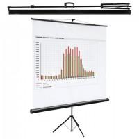 Экран проекционный на треноге (160х160 см), матовый, 1:1, DIGIS KONTUR-C, DSKC-1101