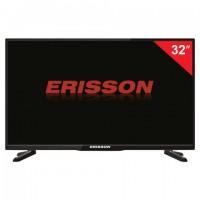 Телевизор ERISSON 32LEK81T2SM, 32'' (81 см), 1366х768, HD, 16:9, Smart TV, Wi-Fi, черный