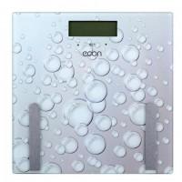 Весы напольные диагностические ECON ECO-BS011, электронные, вес до 180 кг, квадратные, стекло, белые