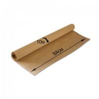 Крафт-бумага в рулоне, 840 мм x 10 м, плотность 78 г/м2, Марка А (Коммунар), BRAUBERG, 440145
