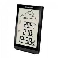 Метеостанция BRESSER TemeoTrend ST, термодатчик, часы, будильник, черный, 73265