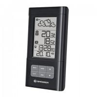 Метеостанция BRESSER TemeoTrend LB, термодатчик, часы, будильник, календарь, черный, 73263