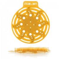 """Коврики-вставки для писсуара, ЭКОС (POWER-SCREEN), на 30 дней каждый, комплект 2 шт., аромат """"Апельсин"""", цвет оранжевый, PWR-4O"""