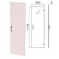 """Дверь СТЕКЛО тонированное, средняя, """"Фея"""", """"Монолит"""", 365х1175х5 мм, без фурнитуры, ДМ43"""