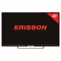 Телевизор ERISSON 40FLES85T2, 40'' (101 см), 1920х1080, Full HD, 16:9, черный
