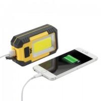 Фонарь светодиодный ЭРА RA-801, COB-LED, рабочий, магнит, крючок, аккумуляторный (USB-кабель в комплекте), Б0027824