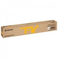 Тонер-картридж KYOCERA (TK-8115Y) M8124cidn/M8130cidn, желтый, ресурс 6000 стр., оригинальный, 1T02P3ANL0