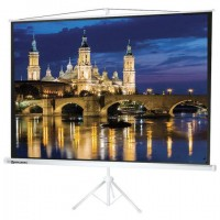 Экран проекционный на треноге (150х200 см), матовый, 4:3, BRAUBERG