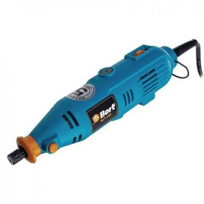 Гравер электрический, 135 Вт, 8000-32000 оборотов/мин, вес 600 г, набор аксессуаров, BORT BCT-140, 98295658