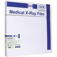 Рентгеновская пленка синечувствительная, SFM X-Ray BF, КОМПЛЕКТ 100 л., 35х35 см, 629042