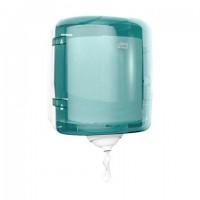 Диспенсер для полотенец с центральной вытяжкой, Tork (Система М4) Reflex, голубой, 473180
