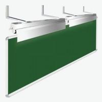 Светильники для школьной доски, комплект 2 шт., с кронштейнами и крепежом, ЛК078 1х36-04(Ш)