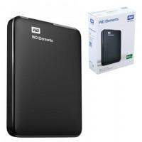 """Внешний жесткий диск WD Elements Portable 500GB, 2.5"""", USB 3.0, черный, WDBUZG5000ABK"""