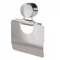 Держатель для бытовой туалетной бумаги LAIMA, нержавеющая сталь, зеркальный, 601620