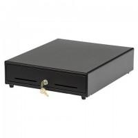 Ящик для денег АТОЛ EC-350-B, электромеханический, 350x405x90, (ККМ ШТРИХ), черный, 39759