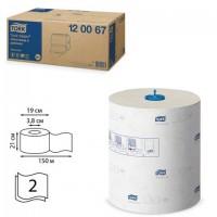 Полотенца бумажные рулонные TORK (Система H1) Matic, комплект 6 шт., Advanced, 150 м, 2-слойные, белые, 120067