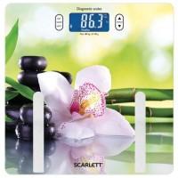 Весы напольные SCARLETT SC-BS33ED10, электронные, вес до 180 кг, квадрат, стекло, с рисунком