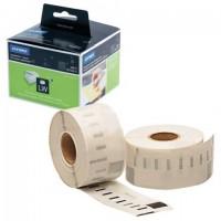 Картридж для принтеров этикеток DYMO Label Writer, этикетка 36х89 мм, в рулоне, 260 шт./рулоне, прозрачные, пластик, S0722410