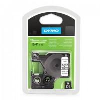 Картридж для принтеров этикеток DYMO D1, 19 мм х 3,5 м, лента нейлоновая, чёрный шрифт, белый фон, для неровных поверхностей, S0718050