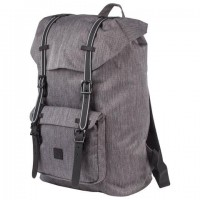 """Рюкзак BRAUBERG молодежный с отделением для ноутбука, """"Кантри"""", серый меланж, 41х28х14 см, 227082"""