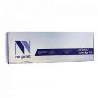 Картридж лазерный NV PRINT (NV-718BK) для CANON LBP7200Cdn/MF8330Cdn/8350Cdn, черный, ресурс 3400 стр., NV-CC530A/718Bk