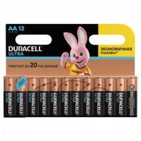 Батарейки КОМПЛЕКТ 12 шт., DURACELL Ultra Power, AA (LR06, 15А), алкалиновые, пальчиковые, блистер