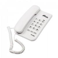 Телефон RITMIX RT-320 white, световая индикация звонка, блокировка набора ключом, белый, 15118348