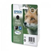 Картридж струйный EPSON (C13T12814012) Stylus S22/SX125/SX420W/ SX425W/BX305F/FW, черный, оригинальный