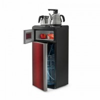 Кулер для воды с чайником VATTEN L50REAT Tea Bar, напольный, ОХЛАЖДЕНИЕ ЭЛЕКТРОННОЕ, шкаф, 1 кран, 5728
