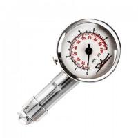 Манометр стрелочный металлический, диапазон измерения 0-7,5 ATM, AIRLINE, APR-M-02