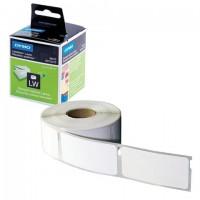 Картридж для принтеров этикеток DYMO Label Writer, этикетка 28х89 мм, в рулоне, 130 шт./рулоне, комплект 2 рулона, белые, S0722370