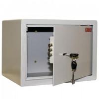 """Сейф мебельный AIKO """"Т23"""", 230х300х250 мм, 5,5 кг, ключевой замок, крепление к стене"""