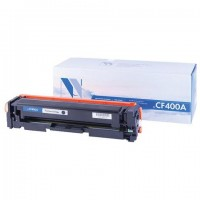 Картридж лазерный NV PRINT (NV-CF400A) для HP LaserJet M252dw/MFP-M277dw, черный, ресурс 1500 страниц