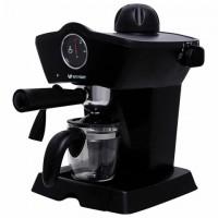 Кофеварка рожковая KITFORT КТ-706, 800 Вт, объем 0,8 л, 3,5 бар, ручной капучинатор, черная, KT-706