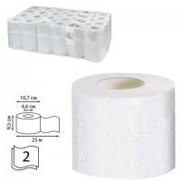 Бумага туалетная 25 м, VEIRO Professional (Система T4), КОМПЛЕКТ 48 шт., Premium, 2-слойная, T308
