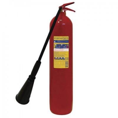 Огнетушитель углекислотный ОУ-5, ВСЕ (жидкие и газообразные вещества, электро установки), ИНЕЙ, 112-04